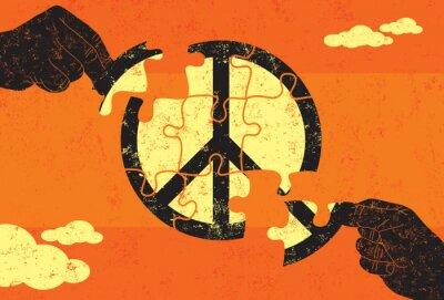 Plakát Řešení pro mír