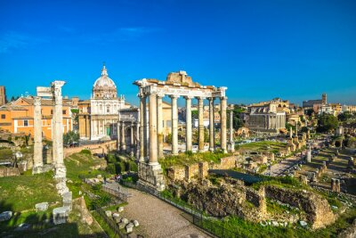 Plakát Řím, Itálie.