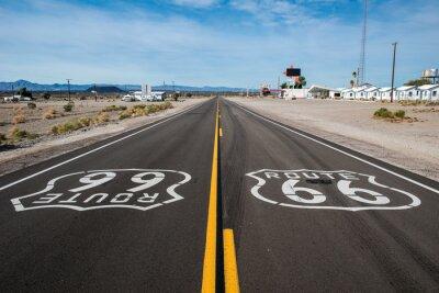 Plakát Route 66 znamení