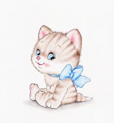Plakát Roztomilá kočička