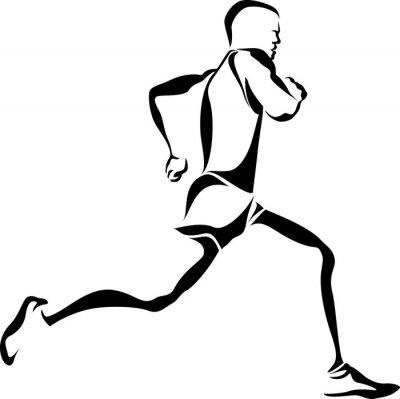 Plakát Runner Accent