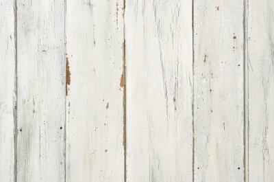 Plakát Rustikaler weisser Holzhintergrund