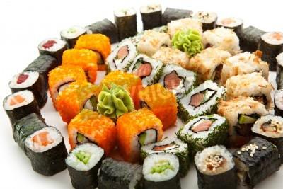 Plakát Různé typy Maki Sushi