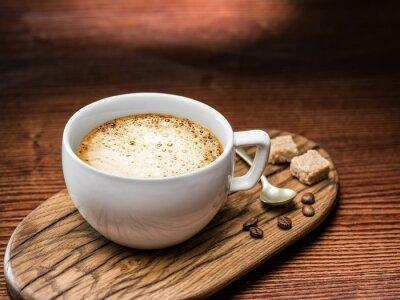 Plakát Šálek cappuccina.