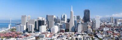 Plakát San Francisco Panorama