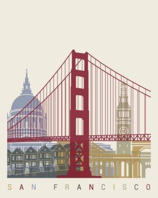 Plakát San Francisco panorama plakát