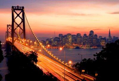 Plakát San Francisco Sunset