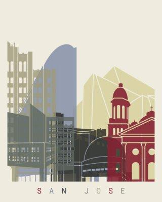 Plakát San Jose panorama plakát
