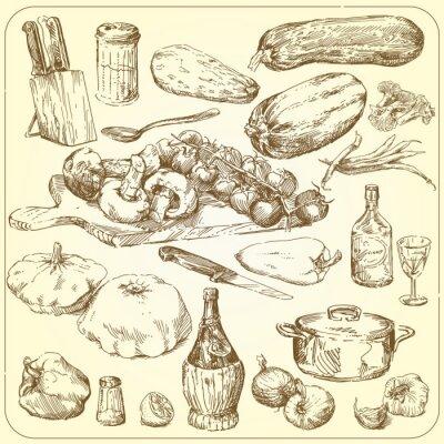 Plakát Sbírka potravin