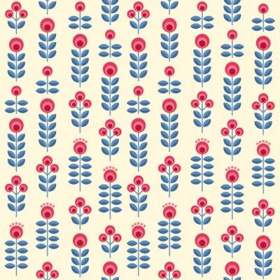 Plakát Skandinávské květiny