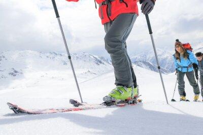 Plakát Ski tour na cestách