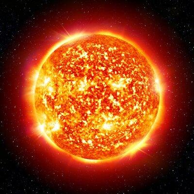 Plakát Slunce planeta