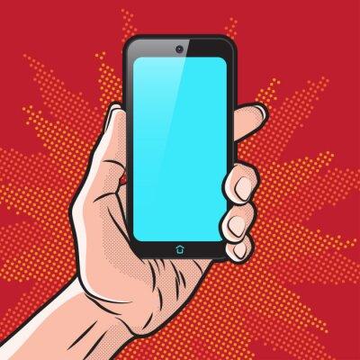 Plakát Smartphone v ruce