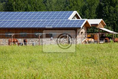 Plakát Solární farma