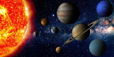 Plakát Solární systém