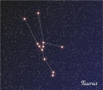 Plakát souhvězdí Býka