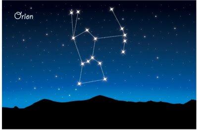 Plakát Souhvězdí Orion