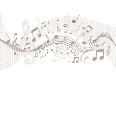 Plakát Souvislosti s hudebními poznámkami