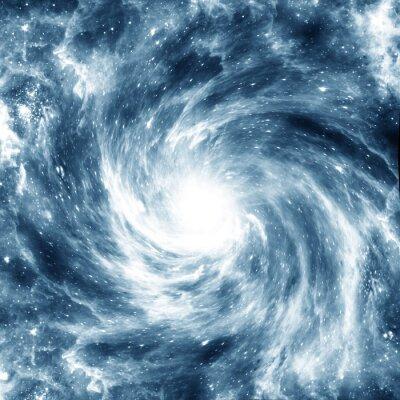 Plakát spirální galaxie