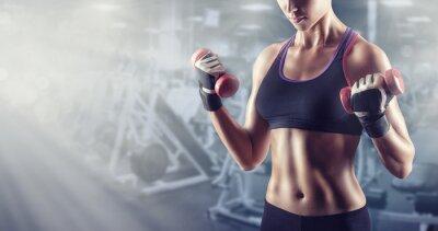 Plakát Sportovní dívka