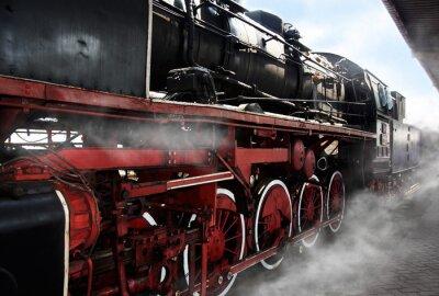 Plakát Staré lokomotiva kola