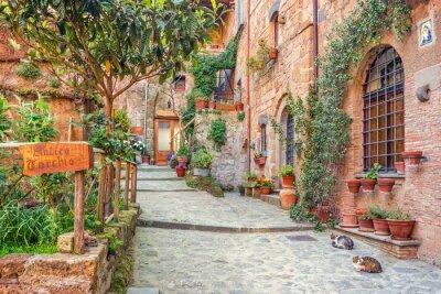Plakát Staré město Toskánsko Itálie