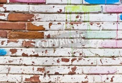 Plakát Staré zdi výplň graffiti
