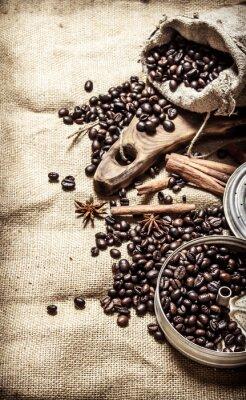 Plakát Starý káva styl.