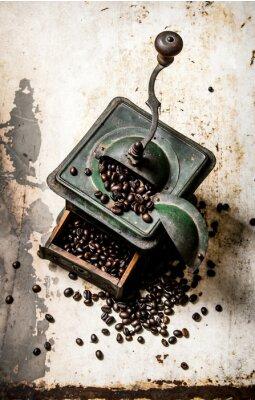 Plakát Starý mlýnek na kávu