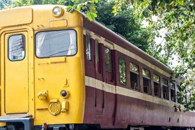 Plakát Starý vlak na nádraží
