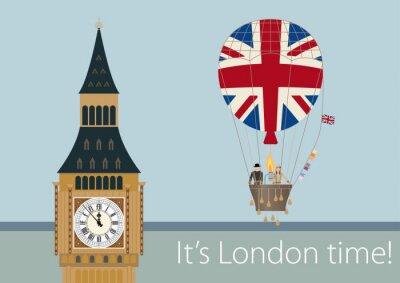 Plakát Stylové výkresy Londýn