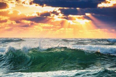 Plakát Sunrise Wave