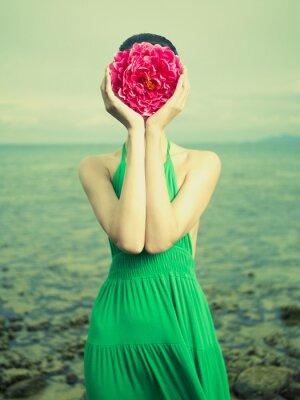 Plakát Surreal portrét ženy