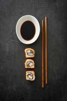 Plakát Sushi. japonské jídlo
