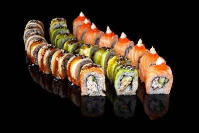 Plakát Sushi rolka