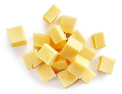 Plakát sýr kousky