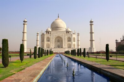 Plakát Taj Mahal mauzoleum, Agra, Indie