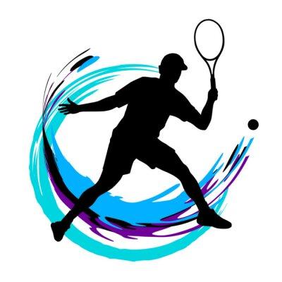 Plakát Tenis - 197