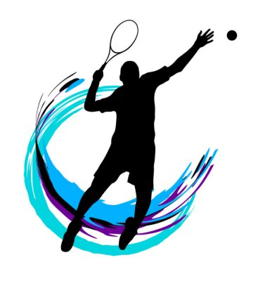 Plakát Tenis - 199