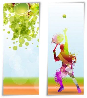 Plakát Tenis, Competizione, torneo