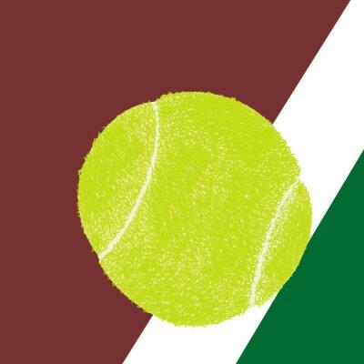 Plakát Tenisový míček