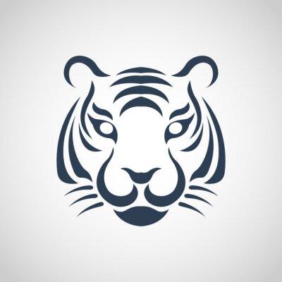 Plakát tiger logo vector