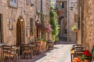 Plakát Tipico ristorante italiano nel Vicolo Storico