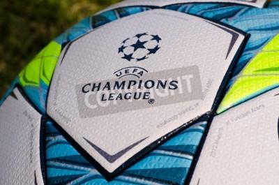 Plakát To je kancelář ples Hraje v závěrečném utkání mezi Bayern Mnichov a Chelsea