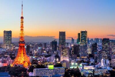 Plakát Tokio, Japonsko.