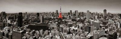 Plakát Tokio Skyline