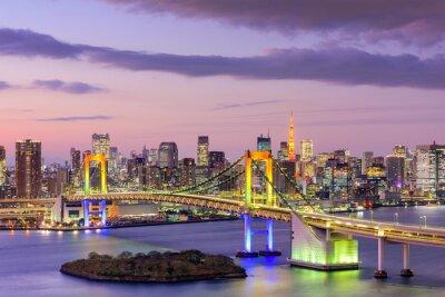 Plakát Tokyo BaySkyline