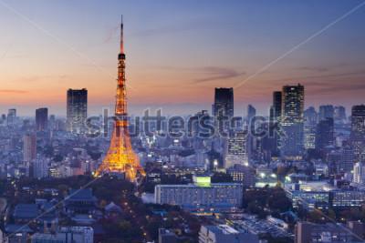 Plakát Tokyo Tower, Tokyo, Japan