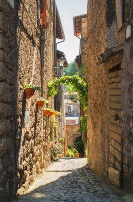 Plakát Tradiční italské domy