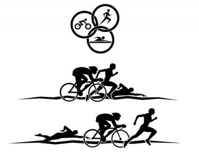 Plakát triatlon